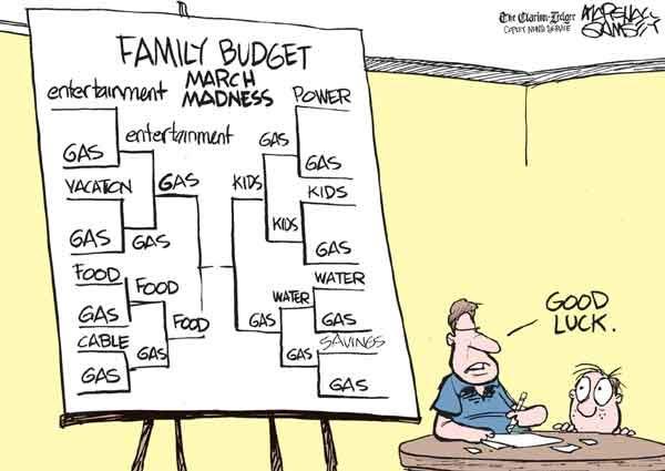 120317 Family Budget March Madness Cartoon