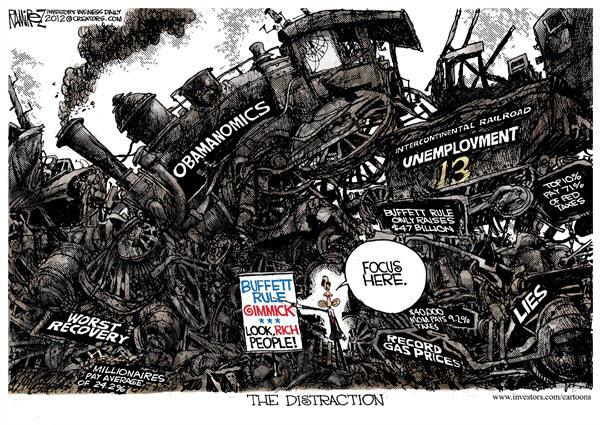 120422 Political Distraction - Ramirez Cartoon