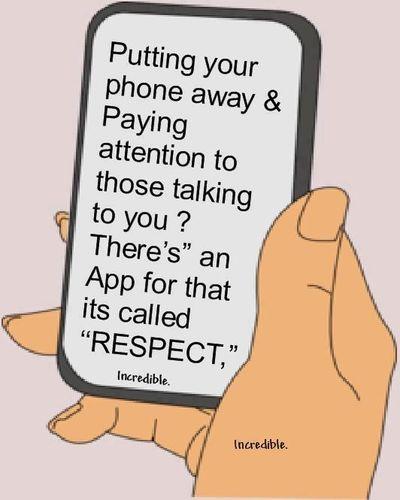 120622 Put the Phone Away