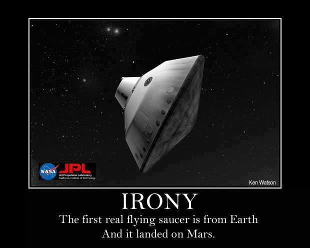 120811 Flying Saucer Irony