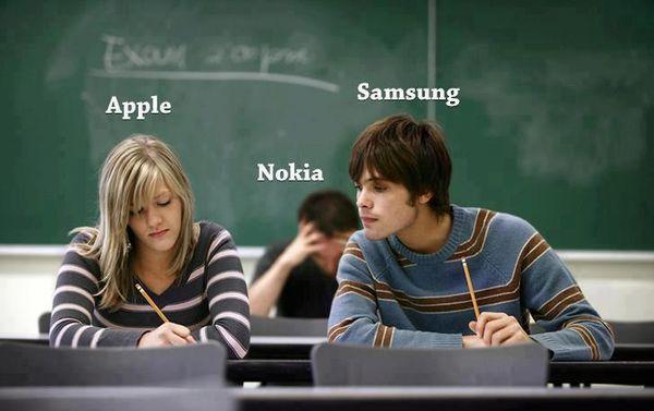 120908 Apple Samsung and Nokia