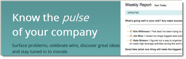 120914 Know the Pulse of Your Company