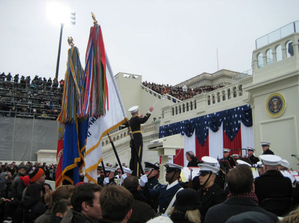 130122 MarineBand at Inauguration