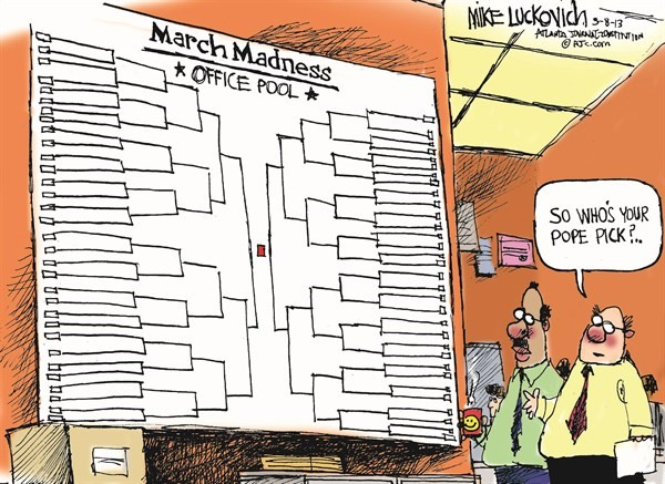 130311 March Pope Madness