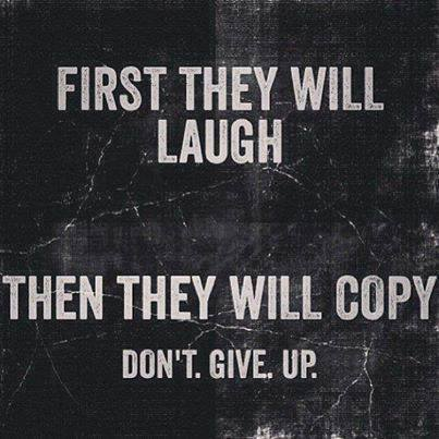 First They Laugh