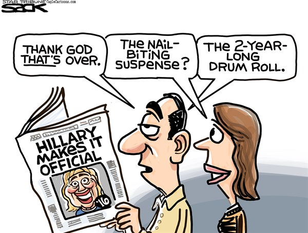 150412 Hillary Announces Her Candidacy