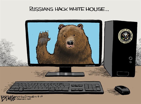 150502 Russians Hack White House and President's E-Mail
