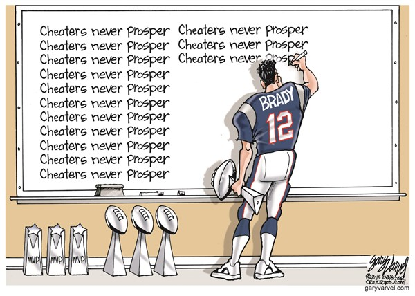150523 Brady - Cheaters Never Prosper