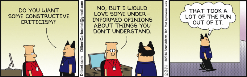 150607 A Dilbert Classic on Constructive Criticism