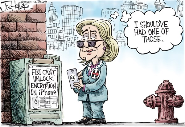 160221 Hillary Should Have Had an iPhone