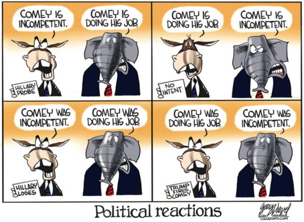 170521 Varvel Cartoon - Political Reactions