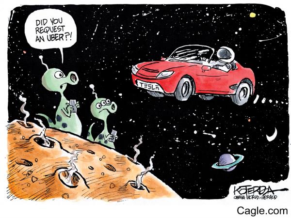 292018 Tesla space